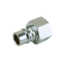 Mass flow female thread quick coupler 1/2 plug