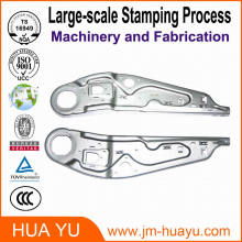 OEM Sheet Metal Stamping Parts, Precision Aluminum Alloy Fabrication Part for Architecture