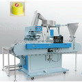 Hot sale plastic cap pad printing machine for printing logo on the surface of caps