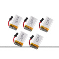 Hot flyer 7.4V 500mAh Lipo Battery 2.4G Quadcopter Battery for rc drones photography rc UFO DFD F183 F183C