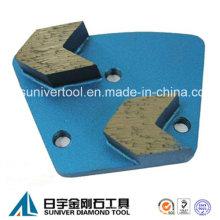 Стрелка сегмент трапеции шлифовальные пластины для бетона