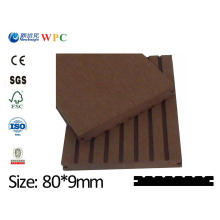 High Quality PE WPC Plank with SGS CE ISO Fsc WPC Cladding WPC Board Wood Plastic Composite Vinyl Plank Lhma009A