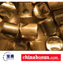 Abrasive copper alloy wire cut shot from factory