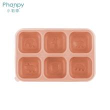 Caja de almacenamiento de alimentos portátil de silicona para bebés