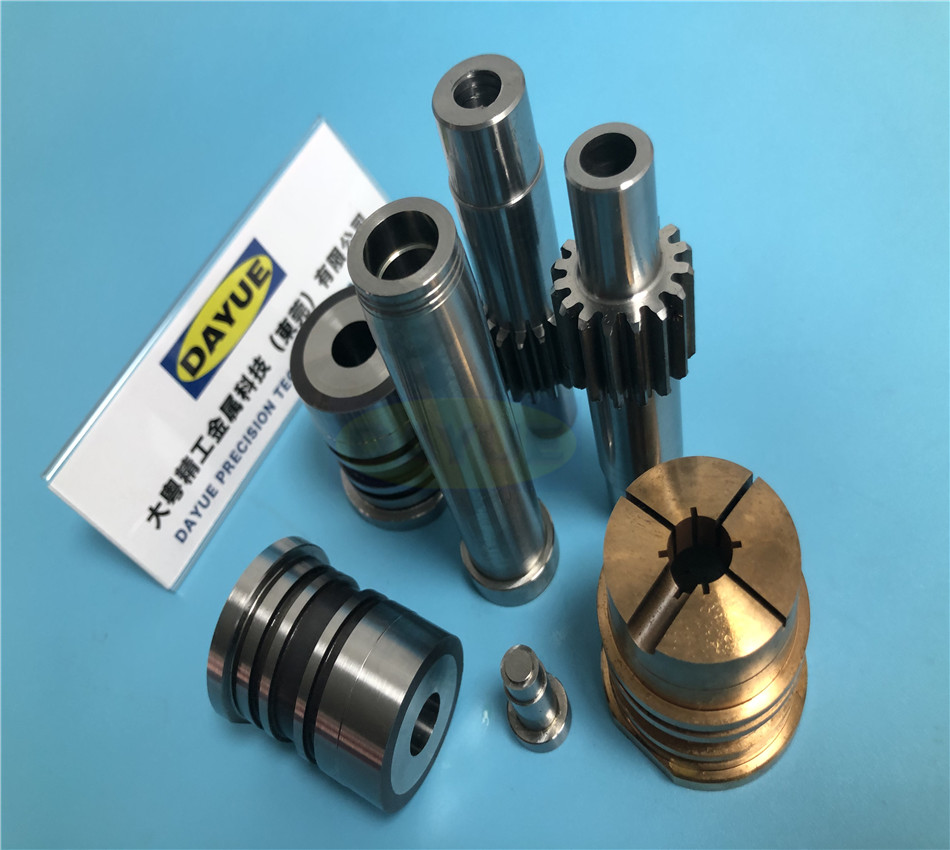 P20 material mold parts threaded pins Grinding thread