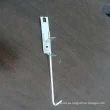 Accesorios de rejilla de techo (alambre de suspensión y clips)