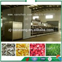 China Tipo individual do túnel de IQF Blast a máquina do congelador