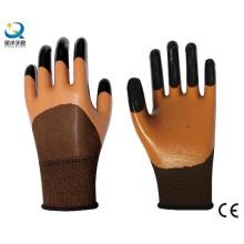Рабочие перчатки с защитой от нитрила 3/4 с покрытием (N7001)