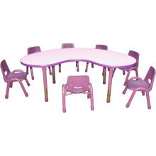 Chaise et bureau d'enfants pour le bureau d'école de meubles d'enfants