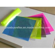 Fitas reflexivas materiais coloridos