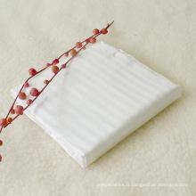 1cm Stripe 1inch Hem on End Sateen Bed Sheet