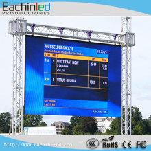 La couleur polychrome de P6 SMD a mené l'écran mené extérieur de scène de location de panneau d'affichage de la publicité à vendre