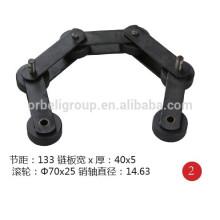 Escalera STEP cadena para diferentes marcas de escaleras mecánicas.