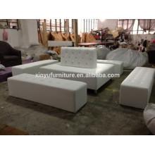 Wedding eventing white sofa set XYN939