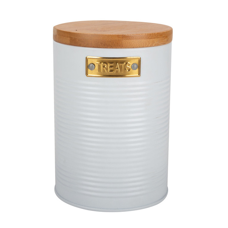 Gold & White Canister Set Amazon