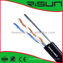 Outdoor Use UTP Cat5e Cable with Steel Wire