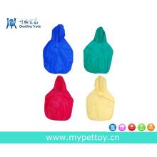 Casaco de chuva multicolor para cães, produto para cães