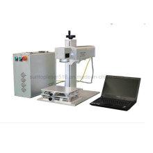 Chaveiro moldura de fotos 20 Watt Metal Laser Marking Machine / Fibra Laser Marcação Preço