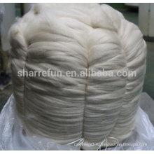 100% чистого монгольского кашемира Топ светло-серый с SGS