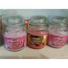 Yankee de vidrio velas perfumadas velas de cristal los titulares