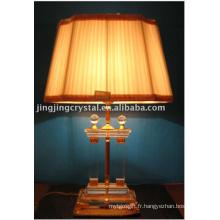 Lampe de table en cristal avec forme populaire en 2016