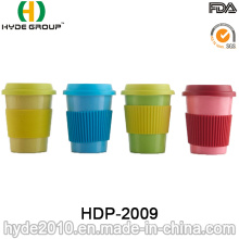 BPA Free Colorful Ecological Bamboo Fiber Coffee Cup (HDP-2009)
