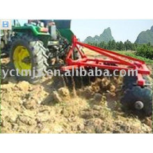 máquina de la rastra de discos del tractor de jardín / grada de la granja para el mejor precio