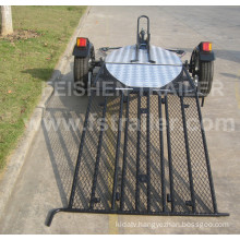 Motorcycle trailer MT501 with rear ramp