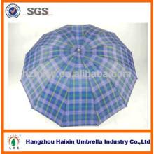 3 annonces imprimées de pliage fantaisie vérifier Satin hôtel parapluie