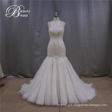 Heavy Beading Mermaoid Bridal Dress