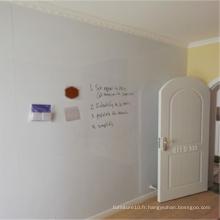 Panneau de papier de mur de tableau blanc de décoration de mur de pièce