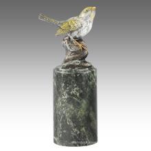 Animal Statue Bird Oriole Decoration Bronze Sculpture Tpal-300 / 301