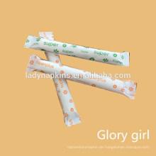 Wegwerfgroßhandelsorganische Perlenapplikator Tampons für Frauen