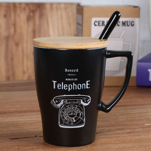 telephone coffee mug