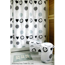 Waterproof Polyester Shower Curtain