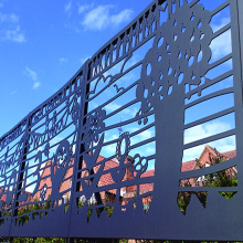 Laser Cut Metal Screens For Garden