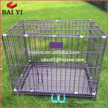Nouvelle arrivée pliante cage grillagée pour animaux de compagnie