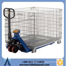 Cajón de alambre de alta capacidad plegable de gran capacidad