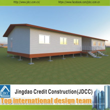 Conception et construction de salle de classe préfabriquée à faible coût