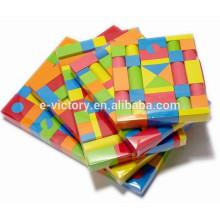 EVA mousse Building Blocks 113 pcs drôle mousse Toy blocs constitutifs