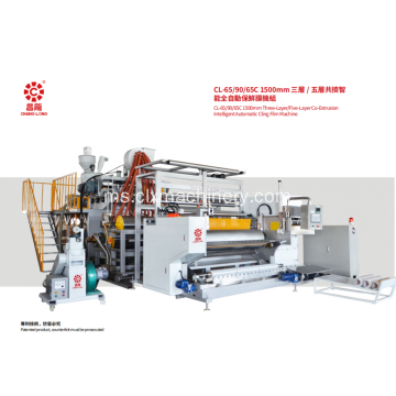 5 Layer PE Stretch Making Machine Mesin
