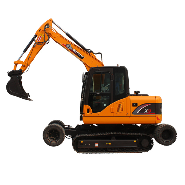 X9 wheel-crawler excavator