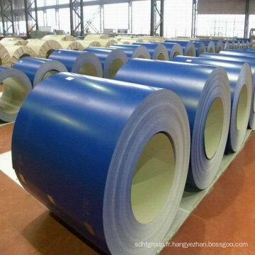 Bobines en acier galvanisé prépainées Utilisation pour matériaux de construction