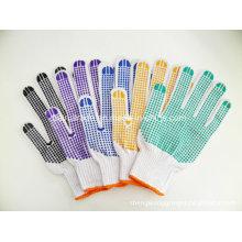 Двухсторонний пластиковый перчатка работы на экспорт