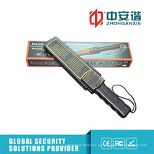 Detector de metales de seguridad electrónico portátil de la fábrica