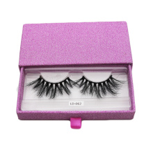 Pink Sliding Eyelash Extensions Beauty Box Kosong