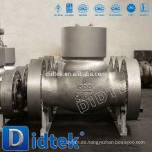 Didtek Válvula de retención de sello de presión de alta calidad con brida