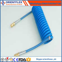 Good Flexible Colorful PU Pneumatic Coil Reinforced Hose