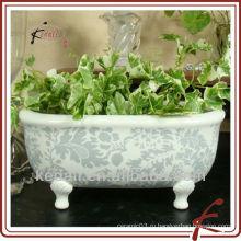 Китайская фабрика фарфора керамическая ванная комната аксессуары цветок ваза