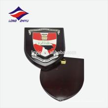 Custom lucky logo wooden wall award plaque